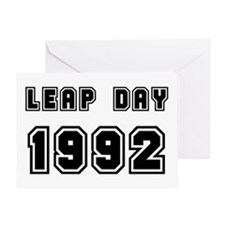 LEAP DAY 1992 Greeting Card