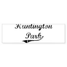 Huntington Park (vintage) Bumper Bumper Sticker