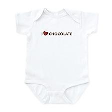 I Love Chocolate Infant Bodysuit