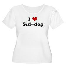 I Love Sid-dog T-Shirt