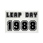 LEAP DAY 1988 Rectangle Magnet