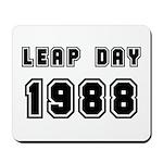 LEAP DAY 1988 Mousepad
