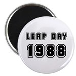 LEAP DAY 1988 Magnet