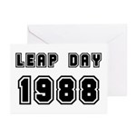 LEAP DAY 1988 Greeting Cards (Pk of 20)