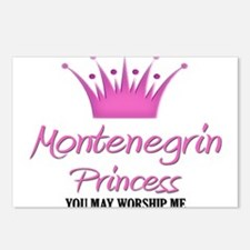 Montenegrin Princess Postcards (Package of 8)