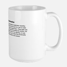 Large Mug, Customization Mugs