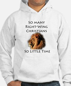 So Many Right Wing Christians Hoodie