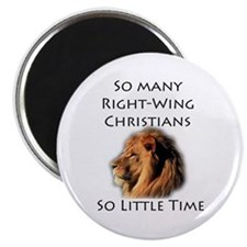 "So Many Right Wing Christians 2.25"" Magnet (10 pac"