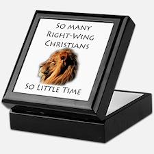 So Many Right Wing Christians Keepsake Box