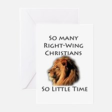 So Many Right Wing Christians Greeting Cards (Pack