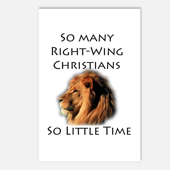 So Many Right Wing Christians Postcards (Package o