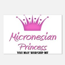 Micronesian Princess Postcards (Package of 8)