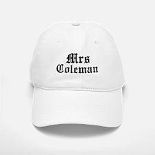 Mrs Coleman Baseball Baseball Cap