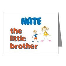 Nate - The Little Brother Note Cards (Pk of 10)