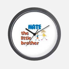 Nate - The Little Brother Wall Clock
