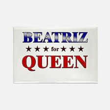 BEATRIZ for queen Rectangle Magnet