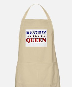 BEATRIZ for queen BBQ Apron