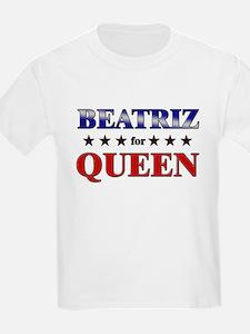 BEATRIZ for queen T-Shirt