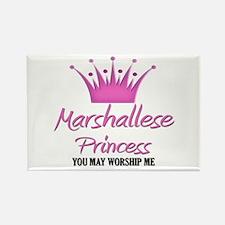 Marshallese Princess Rectangle Magnet