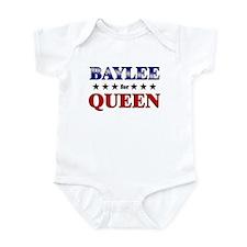 BAYLEE for queen Infant Bodysuit