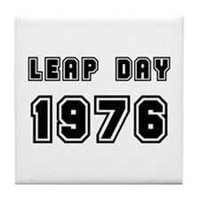 LEAP DAY 1976 Tile Coaster