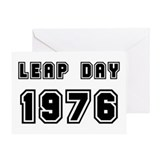Leap day Greeting Cards