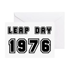 LEAP DAY 1976 Greeting Card
