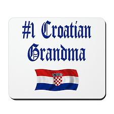 #1 Croatian Grandma Mousepad