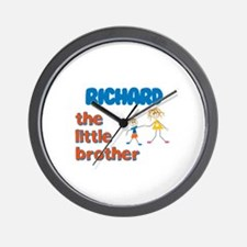 Richard - The Little Brother Wall Clock