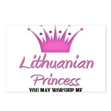 Lithuanian Princess Postcards (Package of 8)
