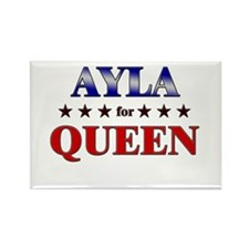 AYLA for queen Rectangle Magnet