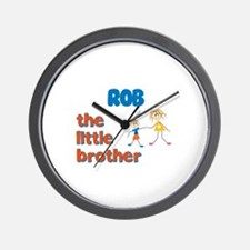 Rob - The Little Brother Wall Clock