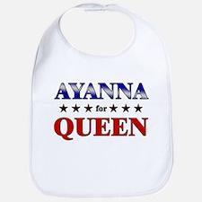 AYANNA for queen Bib
