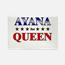 AYANA for queen Rectangle Magnet
