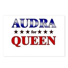 AUDRA for queen Postcards (Package of 8)
