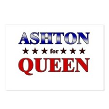 ASHTON for queen Postcards (Package of 8)