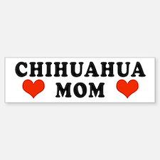 Chihuahua Mom Bumper Bumper Bumper Sticker