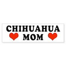 Chihuahua Mom Bumper Bumper Sticker