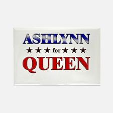 ASHLYNN for queen Rectangle Magnet