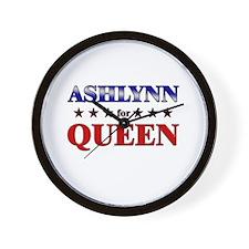 ASHLYNN for queen Wall Clock