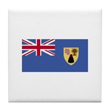 Turks and Caicos Islands Tile Coaster