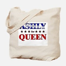ASHLY for queen Tote Bag