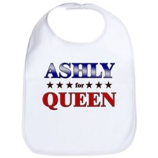 ASHLY for queen Bib