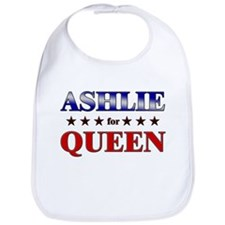 ASHLIE for queen Bib