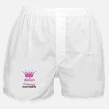 Italian Princess Boxer Shorts