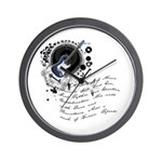 The Alchemy of Music Wall Clock