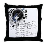 The Alchemy of Music Throw Pillow