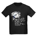 The Alchemy of Music Kids Dark T-Shirt
