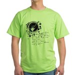 The Alchemy of Music Green T-Shirt
