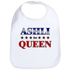 ASHLI for queen Bib